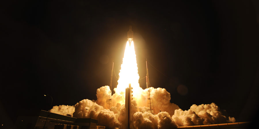 APP - aerospace propulsion products Ariane 5 lift off VA213